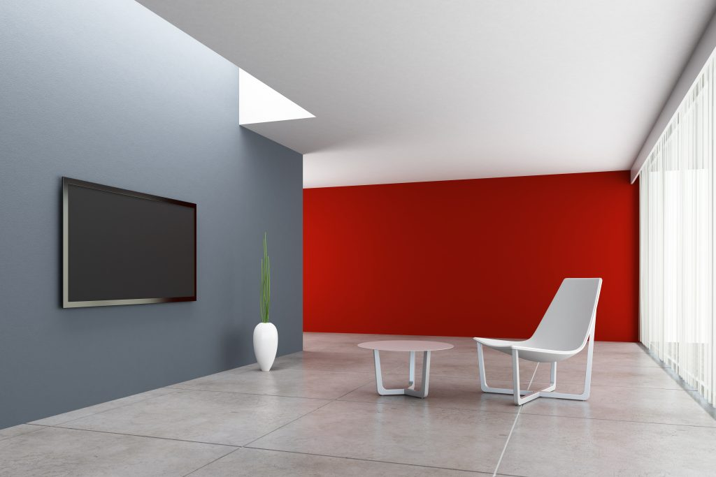 Modern interior TV room.CLICK FOR EXTRA BIG PREVIEW !!!